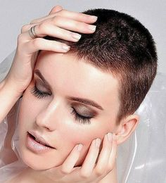 Hi I am Loveherhair. I Love very short hair on women and will post pics of haircuts that I would want my wife to have. Short Sassy Haircuts, Short Hairstyles For Thick Hair, Short Hair With Bangs, Short Hair Cuts For Women, Cool Haircuts, Hairstyles With Bangs, Cool Hairstyles, Short Hair Styles, Haircut Short