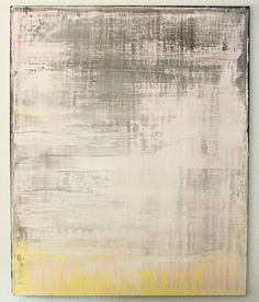 "Saatchi Online Artist: CHRISTIAN HETZEL; Mixed Media, 2013, Painting ""grey pink yellow painting"""