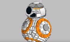 Here's how to build your own Lego BB-8