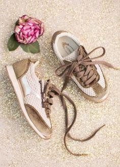 *NEW* Ari Sneaker in Bronze