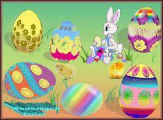 Wielkanoc: Animowane kartki wielkanocne z życzeniami
