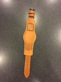 Custom Shell Cordovan Leather Watch Strap from 922Leather.com
