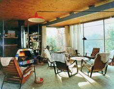 Vintage interiors 2 on pinterest vintage home decorating 1950s interior an - Maison jean prouve nancy ...