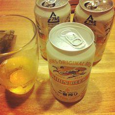 日本の得点数だけ飲む!