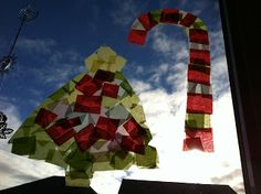 Rockabye Butterfly: Christmas Stain Glass Craft