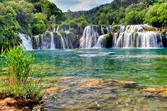 Dalmatian Coast 2011 Krka waterfalls