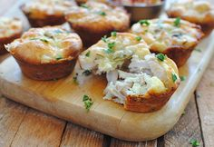 Mini Tex-Mex Chicken and Cheese Pies-