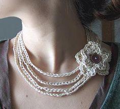 Crochet jewelery... must learn
