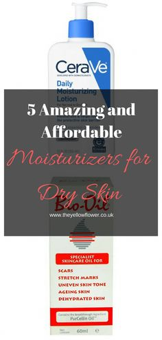 It is important that you find the right moisturiser for your skin type. Here are 5 Amazing and Affordable Moisturizers for Dry Skin. #face#best#organic#body#good#dryskin#moisturizer#beauty#teens#products #BestSkinCareProducts #OrganicFaceMoisturizer Moisturizer For Dry Skin, Oily Skin, Facial Skin Care, Anti Aging Skin Care, Organic Skin Care, Natural Skin Care, Natural Beauty, Dry Skin On Feet, Dry Skin Remedies