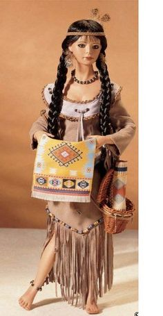 ePier - Laughing Moon Native American Porcelain Doll