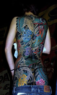 Image Detail for - Oriental Art. Brilliant colors...tattoo inspiration