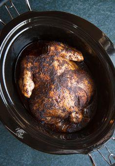 Slow-Cooker Whole Roast Chicken