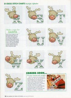Gallery.ru / Photo # 40 - The world of cross stitching 078 Christmas 2003 - WhiteAngel