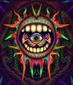 ☮ American Hippie Psychedelic Art ~ Eye
