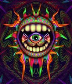 ☮ American Hippie Psychedelic Art ~ Eye