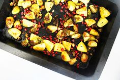 Sprouts are NOT just for Christmas! Forget the mushy unflavoured brussel sprouts you're used to. these maple roasted sprouts by Deliciously Ella are game changing - honestly! Deliciously Ella Recipes, Roasted Sprouts, Healthy Eating, Pomegranates, Dinner, Vegetables, Winter Season, Cooking, Change