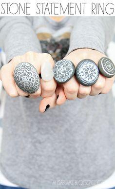 stone statement rings