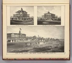 View at Sea Grove, Sea Grove House, Cape May Point, N.J. / Rose, Theodore F.; Woolman, H. C. / 1878