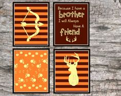 Little Boys 8X10 Hunting Nursery Bedroom Digital by Raising3Cains, $8.00