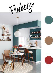 Armonía de color en la cocina http://estiloescandinavo.com/color-en-la-cocina/