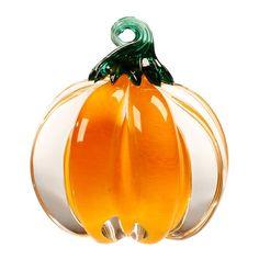 Anchor Bend: Pumpkin, Small  #cmogshops #glass #pumpkin #decor #fall