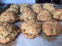Gluten Free Zucchini and Goat Cheese Scones that don't suck thanks to Chef Vikki – Gus Baldwin