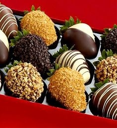 Chocolate Dipped Strawberries--he'll love it!