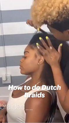 Lemonade Braids Hairstyles, Box Braids Hairstyles For Black Women, Braids Hairstyles Pictures, Cool Braid Hairstyles, African Braids Hairstyles, Baddie Hairstyles, Braids For Black Hair, Cornrow Braid Styles, Hair Ponytail Styles