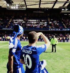CHAMPIONS! #ChelseaFC #DidierDrogba #EdenHazard