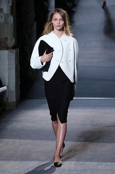 Black & White: Proenza Schouler Fall 2013