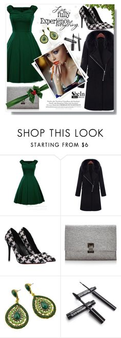 """""""SheIn#7"""" by cherry-bh ❤ liked on Polyvore featuring GALA, Proenza Schouler, Melissa, women's clothing, women's fashion, women, female, woman, misses and juniors"""
