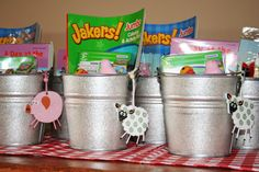 I like the pails for party favors or something Farm Birthday, Birthday Ideas, Birthday Parties, Serenity, First Birthdays, Party Favors, Party Ideas, Fall, Blog