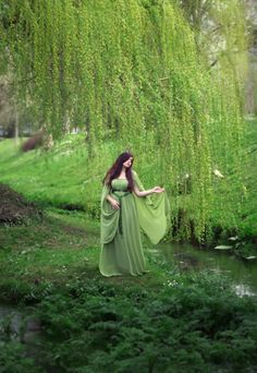 Elven fairytale robe en mousseline de soie de par CostureroReal