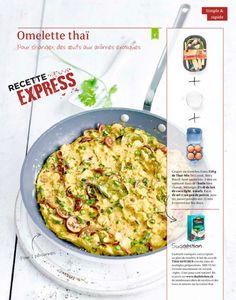 Shortcut - Omelette thaï Omelette, Kitchens, Omelet