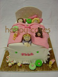 sleepover cakes | Sleepover Cake | Flickr - Photo Sharing!