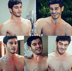 on We Heart It Handsome Celebrities, Most Handsome Actors, Hot Actors, Turkish Men, Turkish Beauty, Turkish Actors, Hrithik Roshan Hairstyle, Murat And Hayat Pics, We Heart It