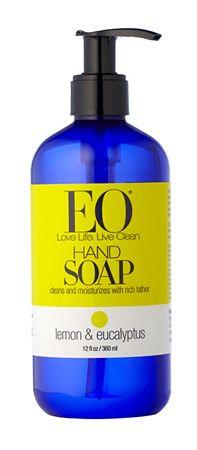 EO Products Liquid Hand Soap - 12 oz Lemon & Eucalyptus liquidhandsoap12lemeuc