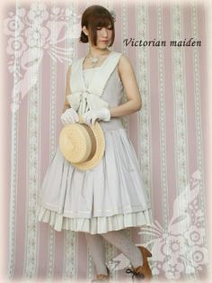 British Marine Ribbon Dress, Victorian maiden