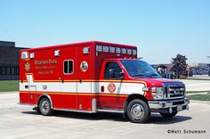 Bedford Park ambulance 701