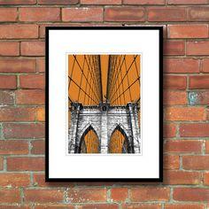 Bronagh Kennedy - New York Limited Edition Print - Brooklyn Bridge