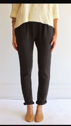 Black Crane Quilt Pants, Martiniano Shoes