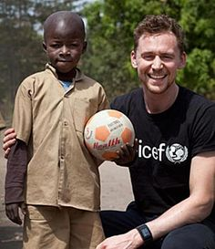 Tom Hiddleston #Unicef_uk