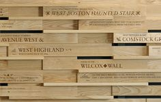 Great concept for a donor wall