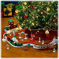 geotrax toy train set for around the christmas tree we would all love this one - Train For Around Christmas Tree