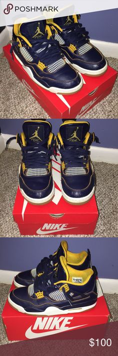 Jordan 4 Have been worn, scuff on front toe, still in good condition Jordan Shoes Sneakers