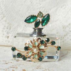 Vintage Jewellery Perfume Bottle