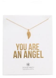 Dogeared You Are an Angel Necklace