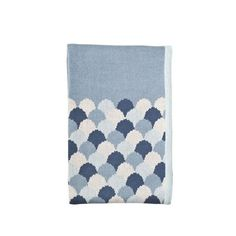 Gelati blue knitted blanket. Generously sized it will go from the cot to the bed with your child. Super soft and warm.    Dimensions: 100 x 150cm    Material: 100% cotton    FREE Shipping for Australian orders.