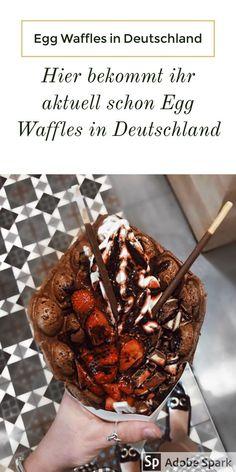 Ihr habt vom Egg Waffles Trend gehört und fragt euch, wo in Deutschland ihr die beliebten Egg Waffles schlemmen könnt? Zwar noch vereinzelt, aber es gibt mehr und mehr Anbieter in Deutschland, wo ihr Egg Waffles jetzt schon schlemmen könnt. Berlin, Bremen, Bonn, Dresden, Köln, München, Stuttgart und Wiesbaden.