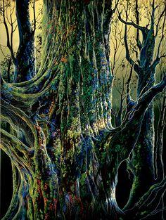 Eyvind Earle ANCIENT TREE